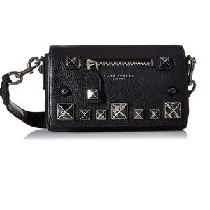 """Marc Jacobs """"recruit chipped studs"""" crossbody"""